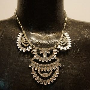 Jewelry - Women's Necklace Statement Silver-tone Clear